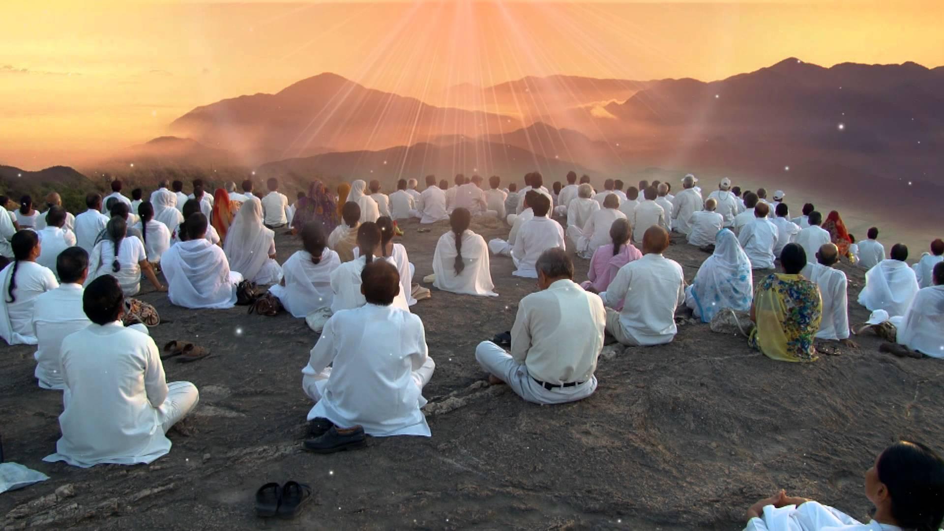 Samen mediteren, ja gezellig…